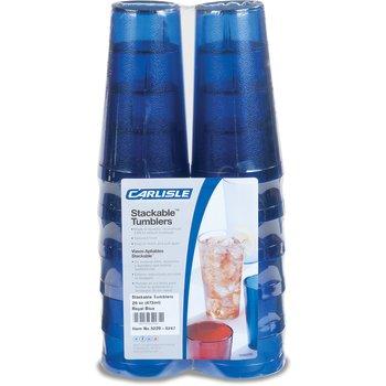 5220-8247 - Stackable™ SAN Tumbler 20 oz (12/pk) - Royal Blue