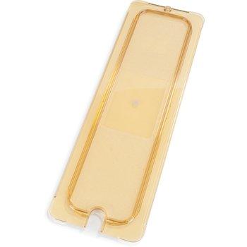 10457U13 - StorPlus™ Univ Lid - Food Pan HH Flat 1/2 Size - Amber