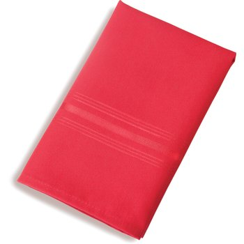 "53761822NH001 - SoftWeave™ Tone on Tone Epicure Napkins 18"" x 22"" - Red"
