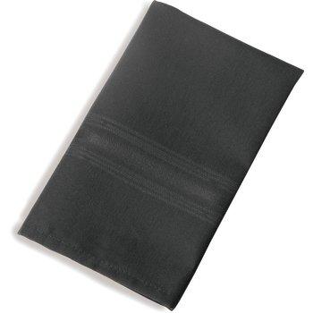 "53761822NH014 - SoftWeave™ Tone on Tone Epicure Napkins 18"" x 22"" - Black"
