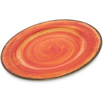 """5400152 - Mingle Melamine Dinner Plate 11"""" - Fireball"""