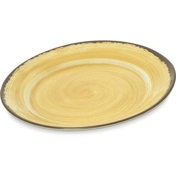 "5400613 - Mingle Melamine Round Charger 12.5"" - Amber"