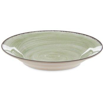 5400346 - Mingle Melamine Rimmed Soup Bowl 28.5 oz - Jade
