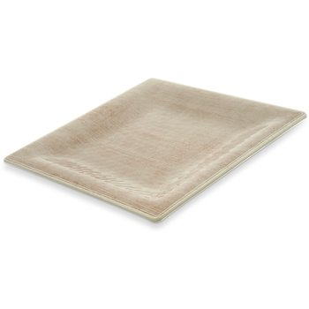 "6402270 - Grove Melamine Square Plate 10.5"" - Adobe"