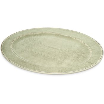 "6402146 - Grove Melamine Oval Platter Tray 20"" x 14"" - Jade"
