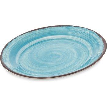 "5400615 - Mingle Melamine Round Charger 12.5"" - Aqua"
