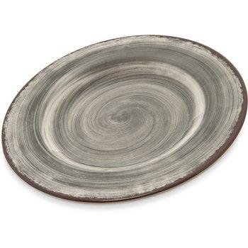 "5400218 - Mingle Melamine Salad Plate 9"" - Smoke"