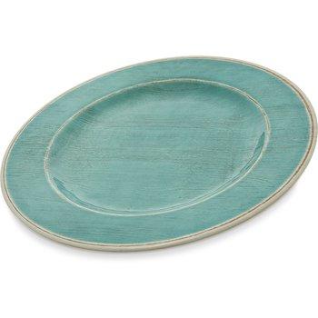 """6400115 - Grove Melamine Dinner Plate 11"""" - Aqua"""