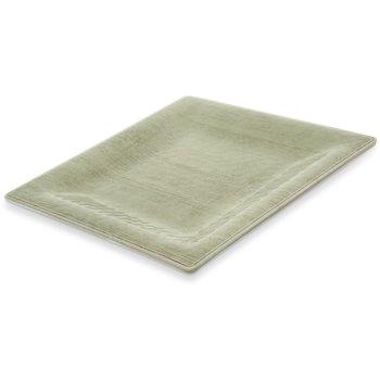 "6402246 - Grove Melamine Square Plate 10.5"" - Jade"