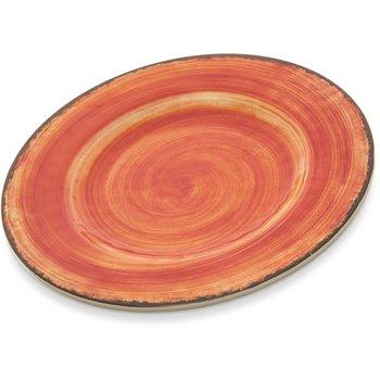 """5400252 - Mingle Melamine Salad Plate 9"""" - Fireball"""