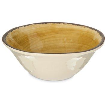 5400413 - Mingle Melamine Ice Cream Bowl 27 oz - Amber
