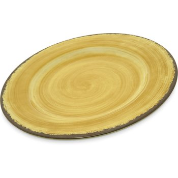 5400113 - Mingle Melamine Dinner Plate 11 - Amber