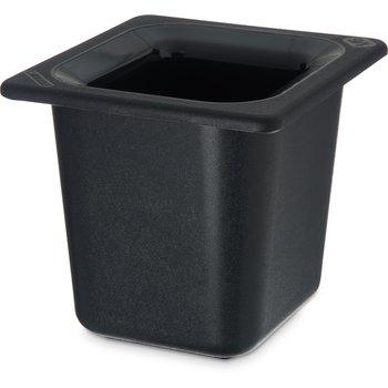 "CM110403 - Coldmaster® 6"" Deep Sixth-size Food Pan 1.6 qt - Black"
