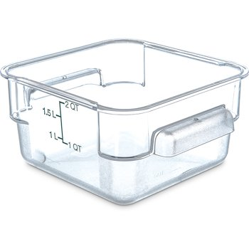 1072007 - StorPlus™ Square Container 2 qt - Clear