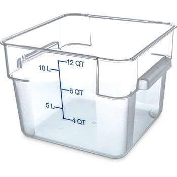 1072407 - StorPlus™ Square Container 12 qt - Clear