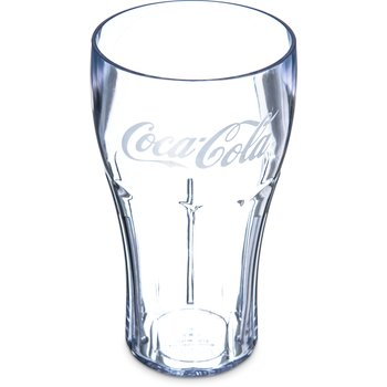 439945200 - Coca-Cola® Stackable™ SAN Tumbler 24 oz - Coca-Cola® - Clear
