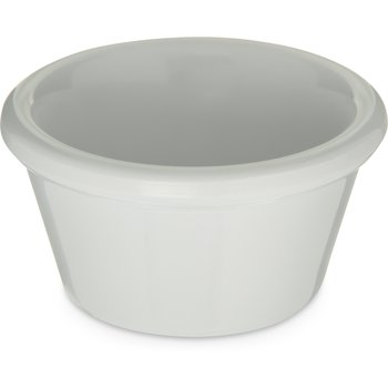 085202 - Melamine Smooth Ramekin 2 oz - White