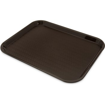 "CT1418-8169 - Cafe® Standard Tray 14"" x 18"" - Cash & Carry (6/pk) - Dark Brown"