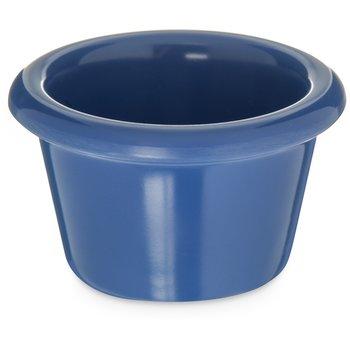 S27514 - Melamine Smooth Ramekin 1.5 oz - Ocean Blue