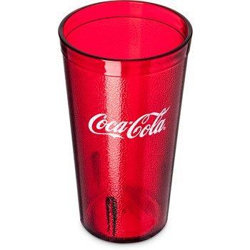 52163550D - Coca-Cola® Stackable™ SAN Tumbler 16 oz - Coca-Cola® - Ruby