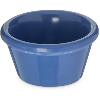085214 - Melamine Smooth Ramekin 2 oz - Ocean Blue