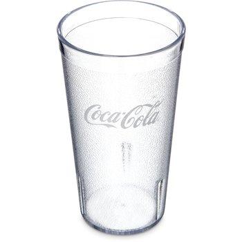 52163550E - Coca-Cola® Stackable™ SAN Tumbler 16 oz - Coca-Cola® - Clear