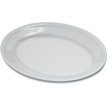 "4356302 - Dallas Ware® Melamine Oval Platter Tray 9.25"" x 6.25"" - White"