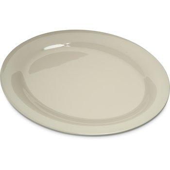 "4308242 - Durus® Melamine Oval Platter Tray 12"" x 9"" - Bone"
