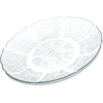 "6954-807 - Petal Mist® Plate 7-1/2"" - Cash & Carry (4/st) - Clear"