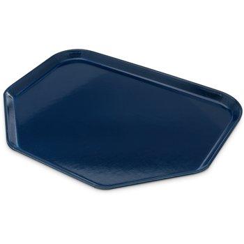 "1713FG050 - Glasteel™ Fiberglass Tray Trapezoid 18"" x 14"" - Sapphire Blue"