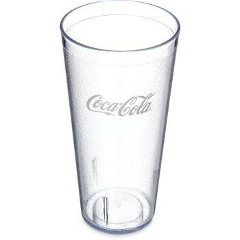 52243550G - Coca-Cola® Stackable™ SAN Plastic Tumbler 24 oz - Coca-Cola® - Clear
