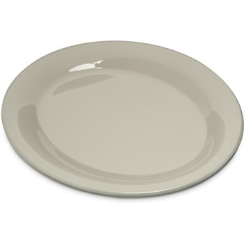 "4308642 - Durus® Melamine Oval Platter Tray 9.5"" x 7.25"" - Bone"