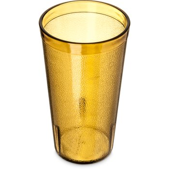 5216-8213 - Stackable™ Cash 'n Carry SAN Tumbler 16 oz (12/pk) - Amber
