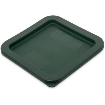 1074008 - StorPlus™ Square Container Lid 2-4 qt - Dark Green