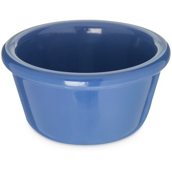 S28514 - Melamine Smooth Ramekin 4 oz - Ocean Blue