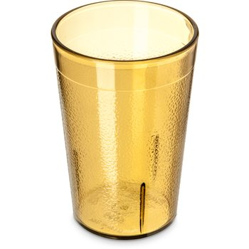 5526-813 - Stackable™ SAN Tumbler 8 oz (12/st) - Amber