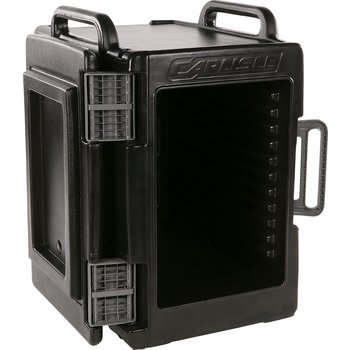 IT40003 - Cateraide™ IT End Loading Insulated Food Pan Carrier 6 Full Size 2.5 Inch Pans - Onyx