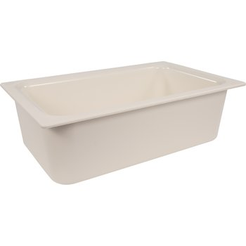 "CM110002 - Coldmaster® 6"" Deep Full-size Food Pan 15 qt - White"