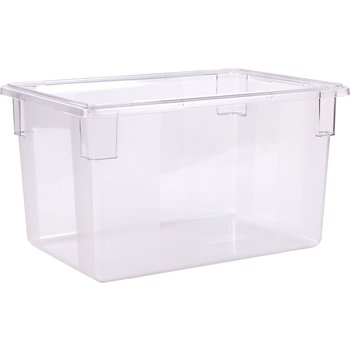 """1062407 - StorPlus™ Storage Container - 21.5 Gallon 26"""" x 18"""" x 15"""" - Clear"""