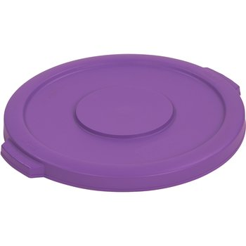 34101189 - Bronco™ Round Waste Bin Food Container Lid 10 Gallon - Purple
