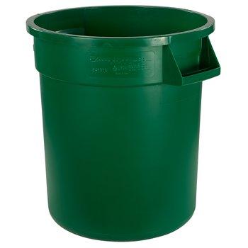 34101009 - Bronco™ Round Waste Bin Food Container 10 Gallon - Green