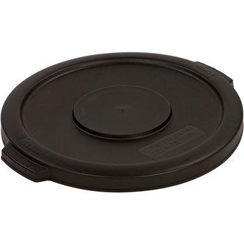 34101103 - Bronco™ Round Waste Bin Food Container Lid 10 Gallon - Black
