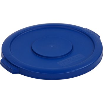 34101114 - Bronco™ Round Waste Bin Food Container Lid 10 Gallon - Blue
