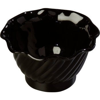 453003 - Tulip Dessert Dish 5 oz - Black