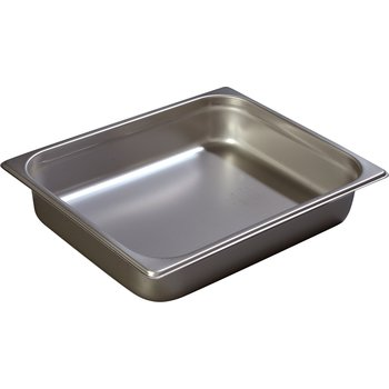"607122 - DuraPan™ Half-Size Light Gauge Stainless Steel Steam Table Hotel Pan 2.5"" Deep"