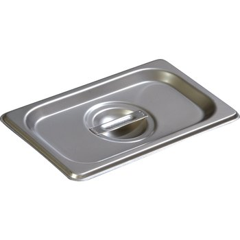 607190C - DuraPan™ Ninth-Size Stainless Steel Steam Table Hotel Pan Handled Cover