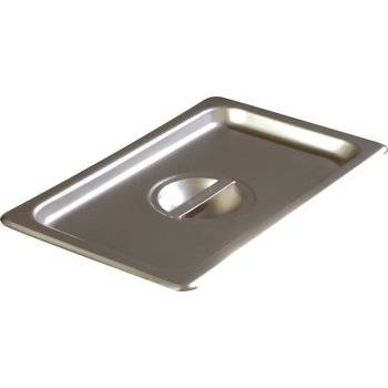 607140C - DuraPan™ Quarter-Size Stainless Steel Steam Table Hotel Pan Handled Cover