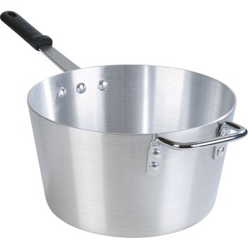 61708 - Standard Weight Tapered Sauce Pan With Removable Dura-Kool™ Sleeves 8.5 qt - Aluminum
