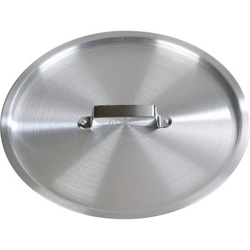 "61704C - Heavy-Duty Cover for 61704 Tapered Sauce Pan 9"" - Aluminum"