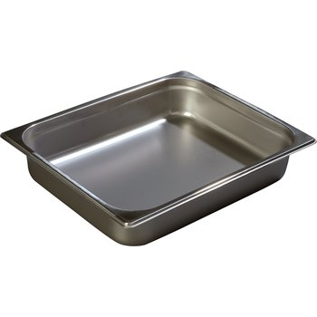 "608122 - DuraPan™ Heavy Gauge One-Half Size Pan 10-3/8"" x 12-3/4"" - Stainless Steel"
